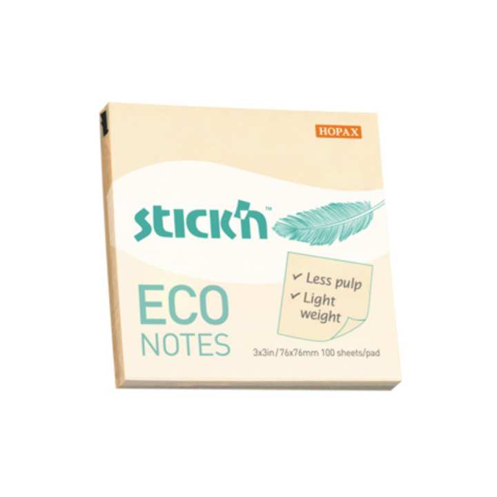 HOPAX 21745 ECO NOTE,3*3Inch