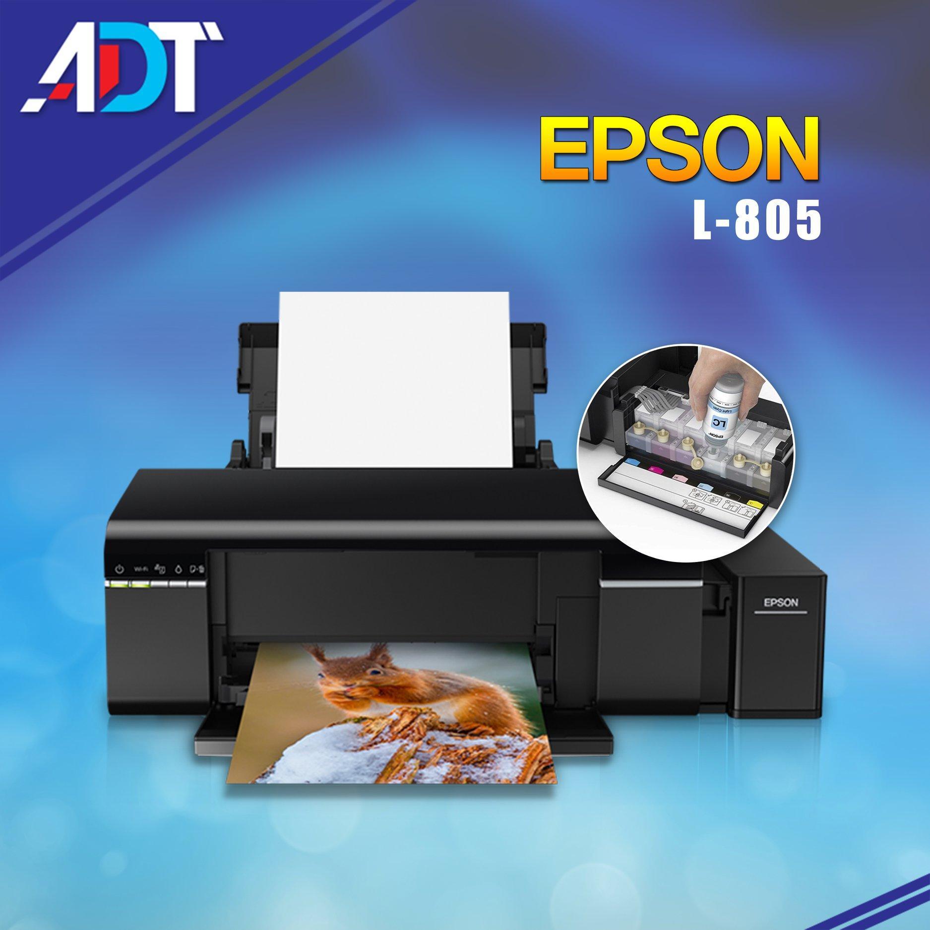 Epson L805 (printer)(Original ဆေးမပါရှိ Ink Jet Ink သာပါရှိပါသည်)၊၊