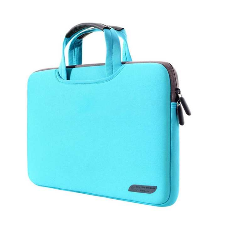 12 inch Portable Air Permeable Handheld Sleeve Bag for MacBook, Lenovo and other Laptops, Size:32x21x2cm