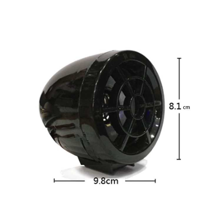 3 Inches 12V Anti-Theft Motorbike Bluetooth Speaker, Moto Motorcycle Audio Player With Theft Protection, FM Radio
