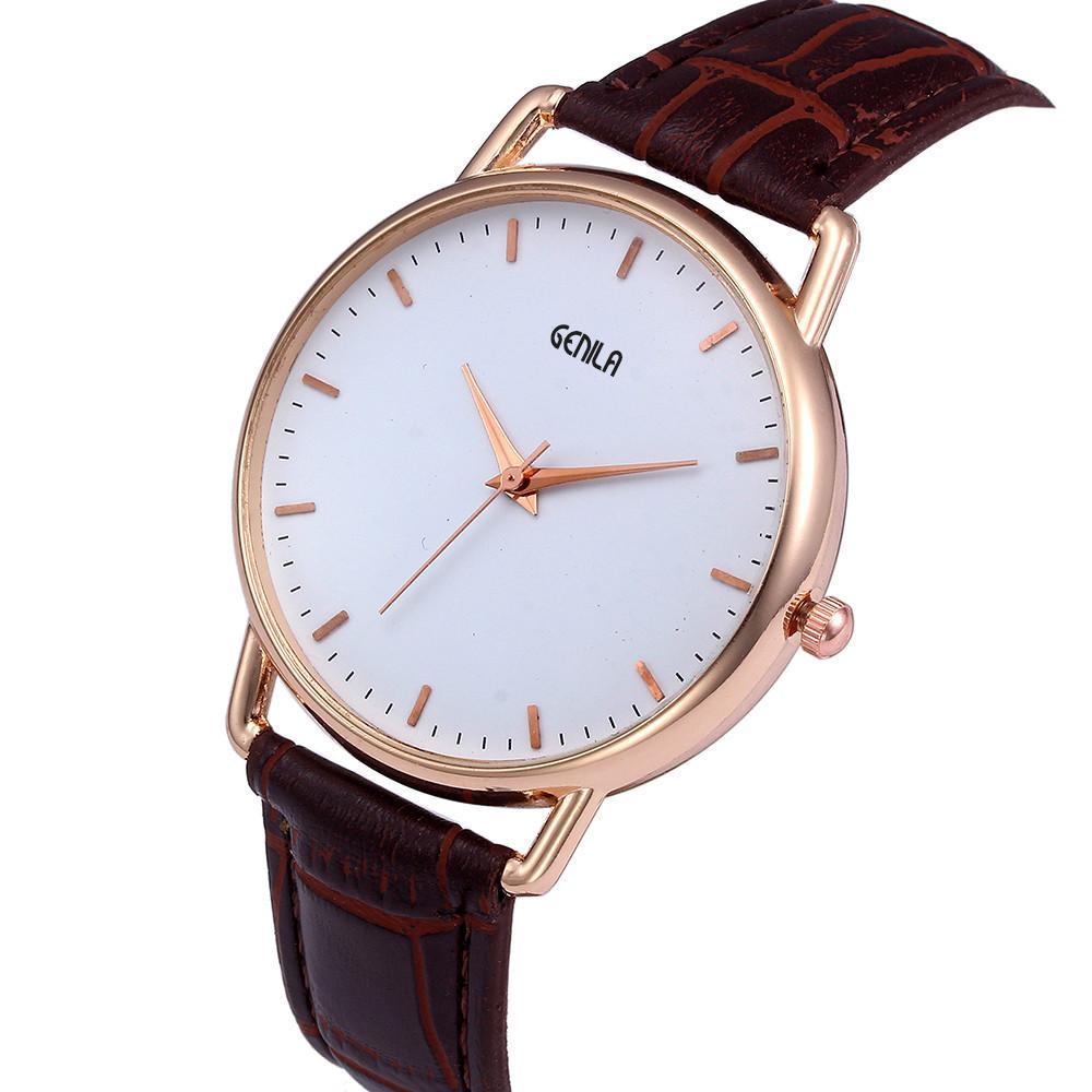 bf13713a2c8 FashionieStore Men s wristwatch Men Fashion Color Strap Digital Dial  Leather Band Quartz Analog Wrist Watches