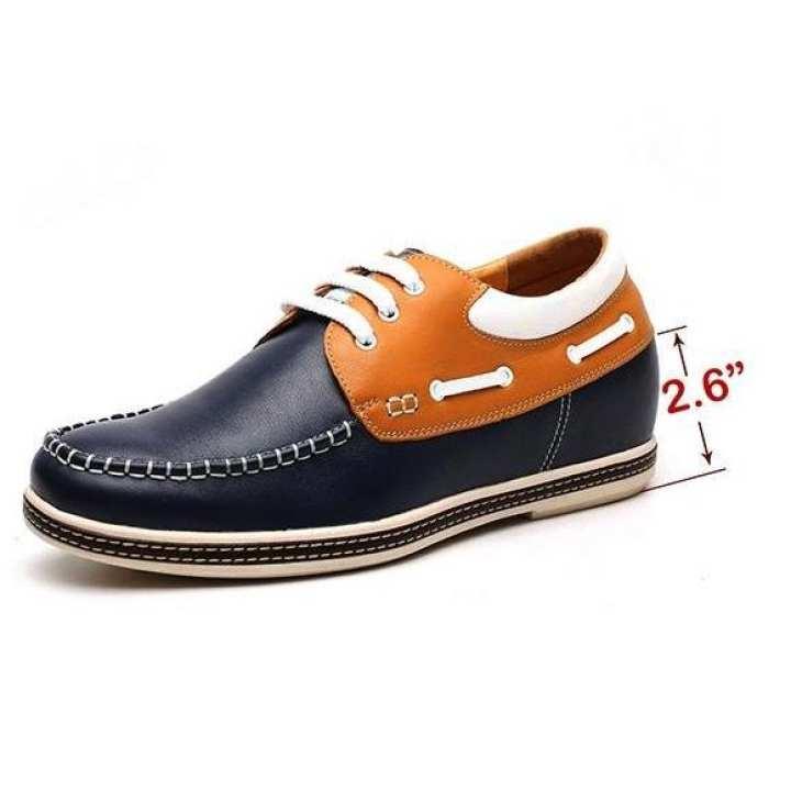 Mr.Confident  Men's Wear Genuine Italian Leather Stylish Casual Shoes