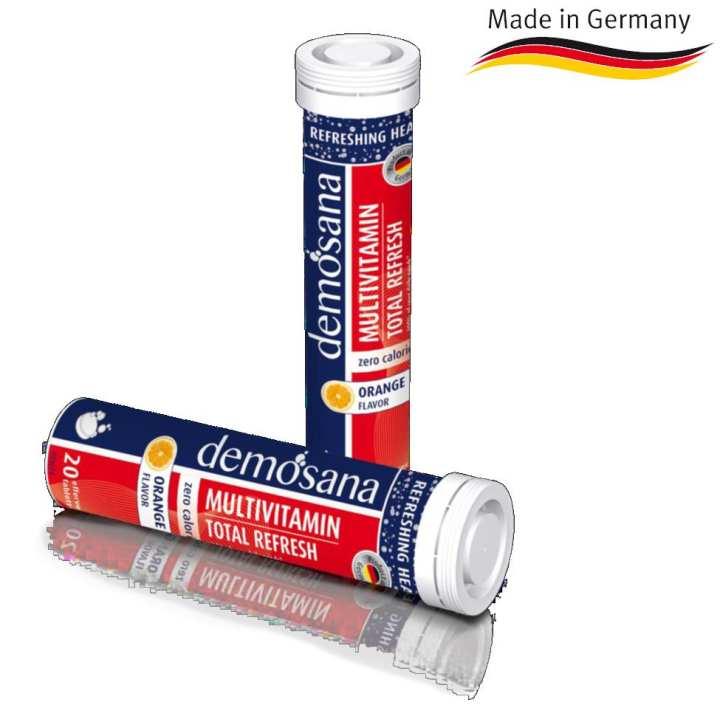 Demosana Effervescent Tablets: Multi-Vitamins