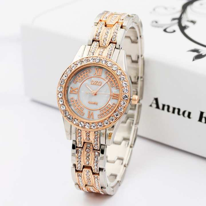FashionieStore Ladies wristwatch Luxury Ladies Watches Bracelet Metal Quartz Bracelet For Women Watches