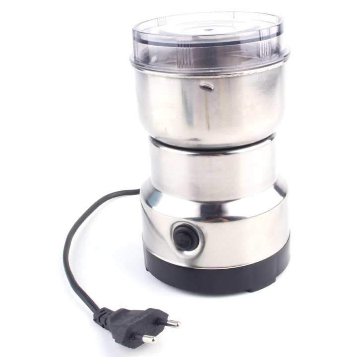 220V Electric Stainless Steel Grinding Milling Machine Coffee Bean Grinder