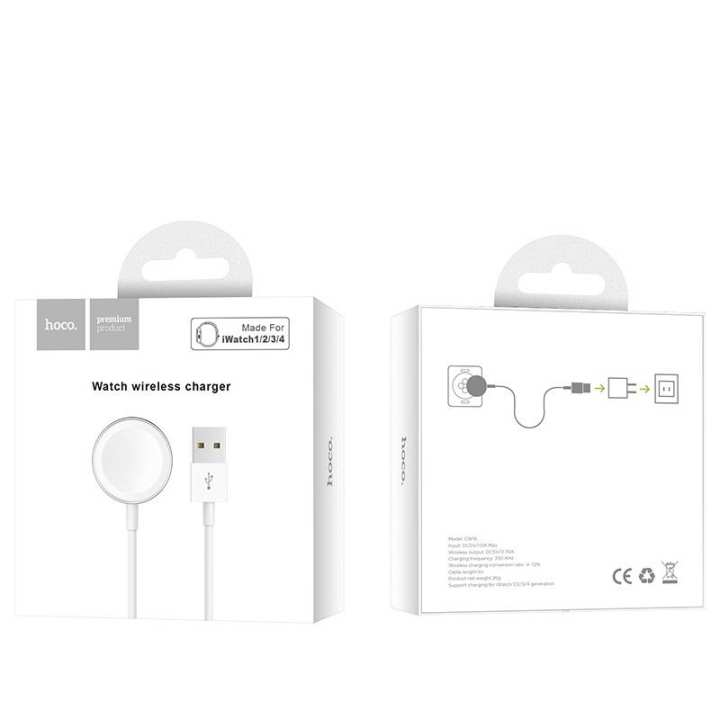 Hoco CW16 Wireless charger for iWatch tabletop