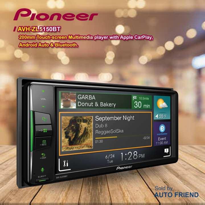 Pioneer AVH- ZL5150BT  Car Head Unit