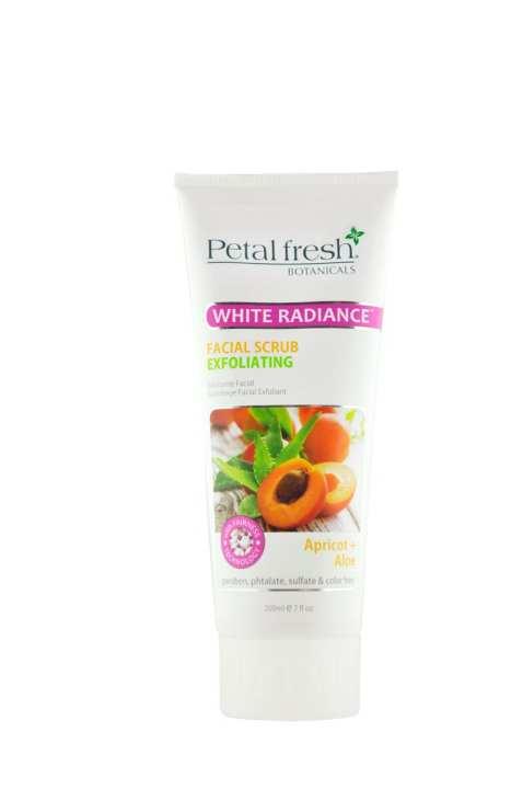 Petal Fresh White Radiance Facial Scrub Apricot & Aloe