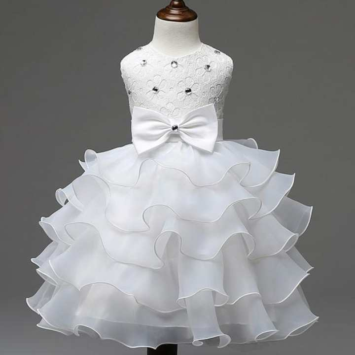 Rainbowroom New Sundress Nail Bead Girls Dress Wedding Party Dresses
