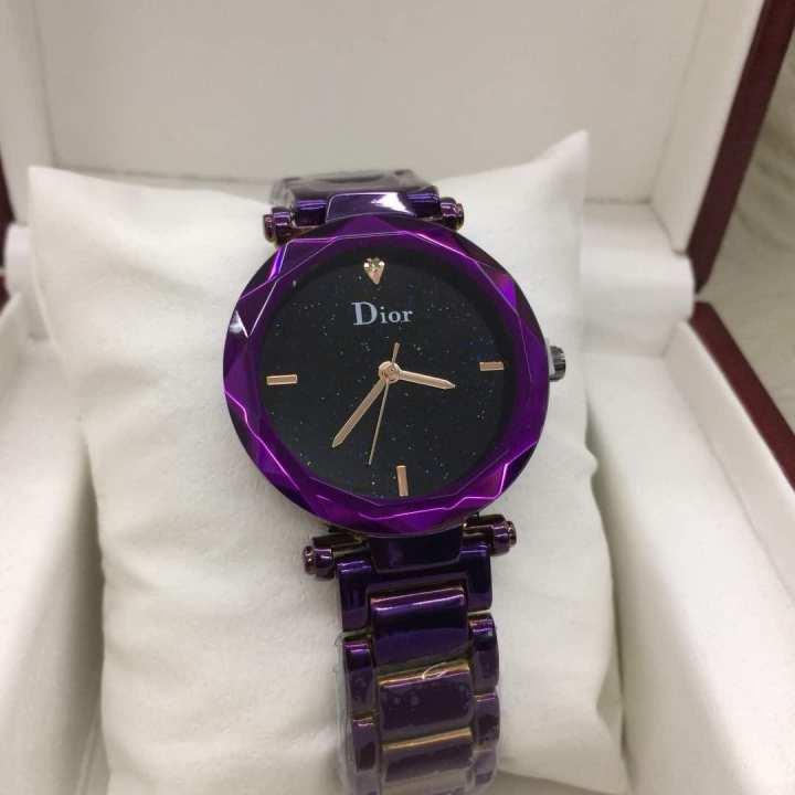 Dior Ladies Watch (အမ်ိဳးသမီးဝတ္နာရီေရစုိခံ)