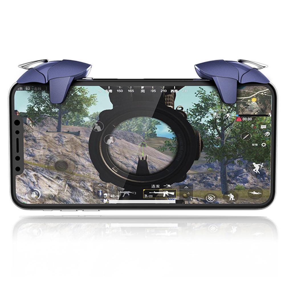 Blue Shark Gaming Trigger for PUBG Mobile Gamepad Fire Button Aim Key L1R1  Shooter Pubg Controller