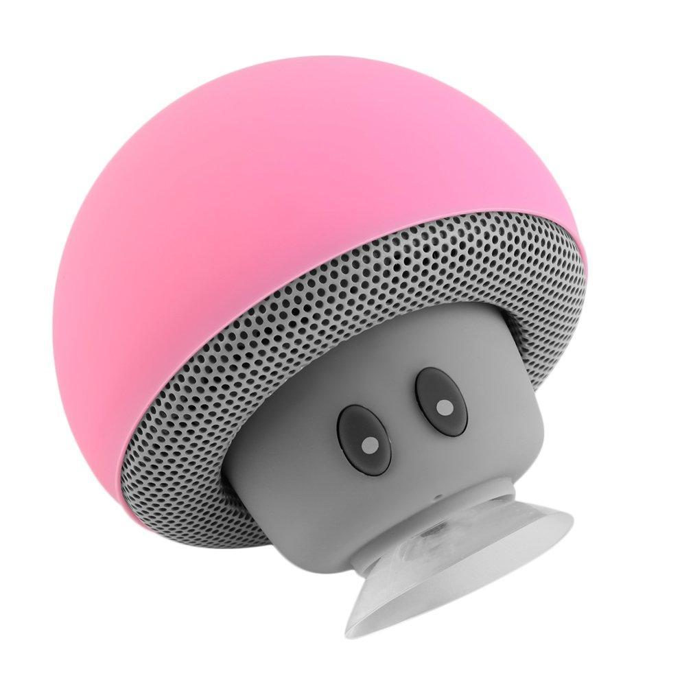 Universal Portable Cute Mushroom Style Wireless Music Bluetooth Speaker  MA