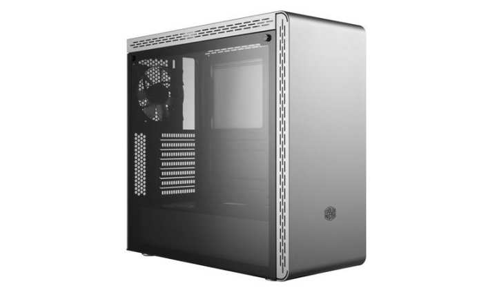 Cooler Master MasterBox MS600 Mid Tower ATX Case with Tempered Glass Silver
