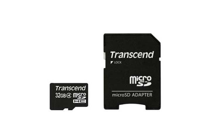Transcend 32GB micro SD HC4