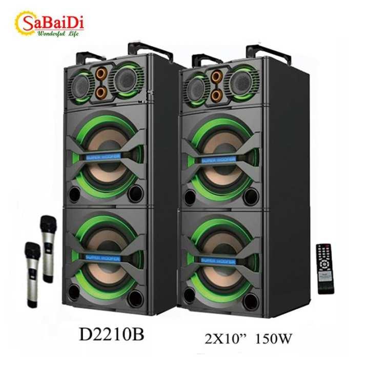 Sabaimart DJ2210B Active Speaker