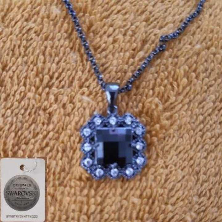 Swarovski Black Necklace