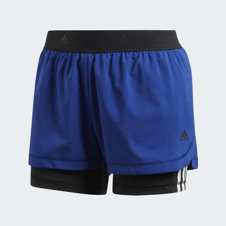 Adidas 2IN1 SHORT W 3S WOMEN (Adidas Official Store Myanmar)