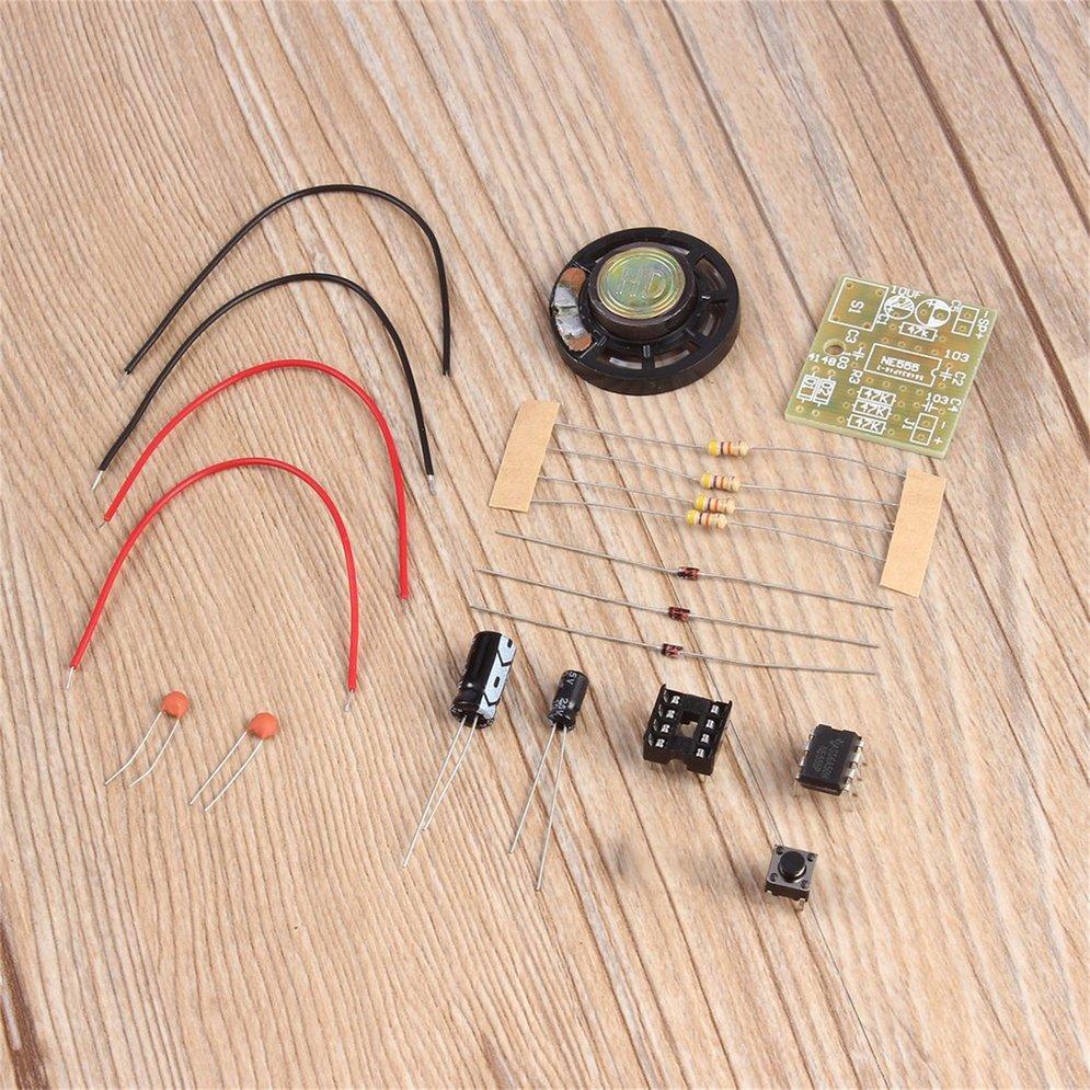 Doorbell Kit Electronic Production Doorbell Kit DIY Kit NE555 Chip DIY Kit