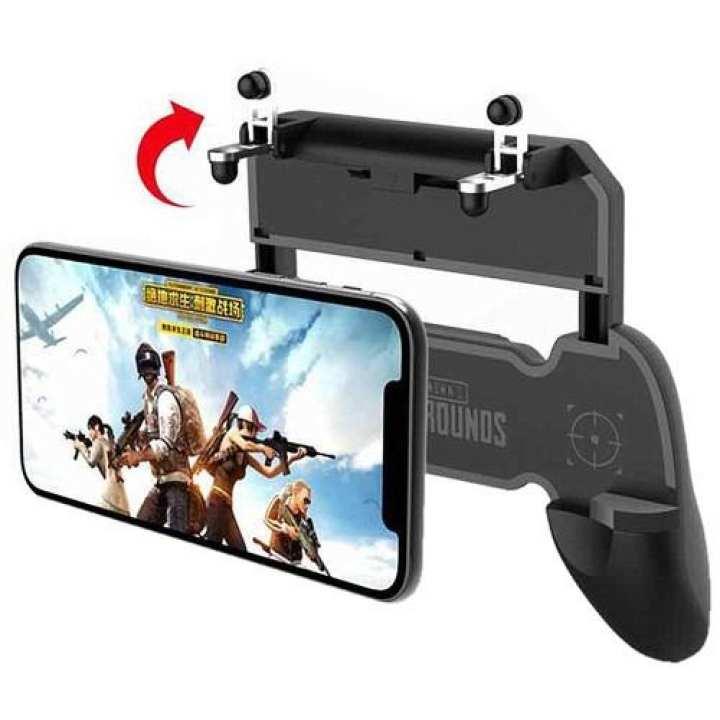 PUBG W10 Game Grip (PUBG)ဂိမ္းလက္ကိုင္နဲ ့ခလုတ္တြဲရက္