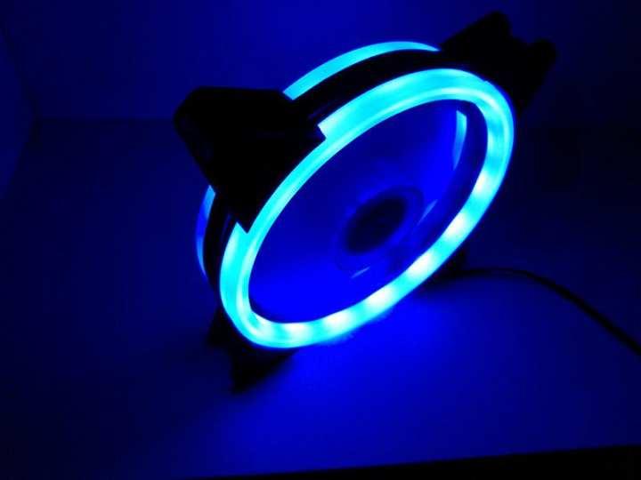 MF120R/120LRGB Gaming Casing LED Fan Lighting Effect