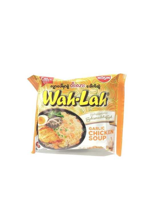 Wah Lah Garlic Chicken Soup Instant Noodle 60g