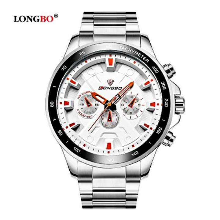 LONGBO Steel watch *80250S*
