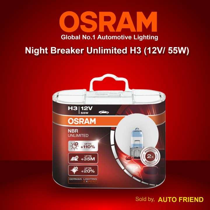 OSRAM Night Breaker Unlimited Automotive Headlight