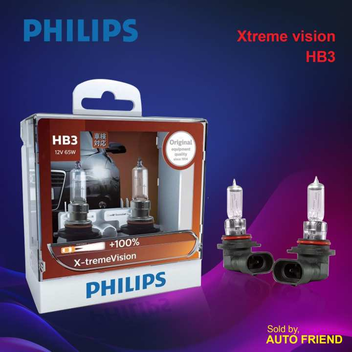 Philips (  HB3 - 9005XV Xtreme Vision Automotive Bulb )