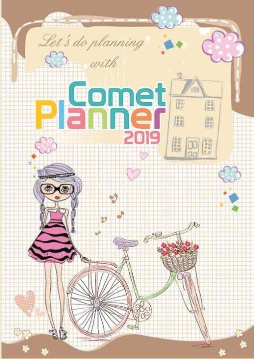 Flower Girl Design Comet Planner