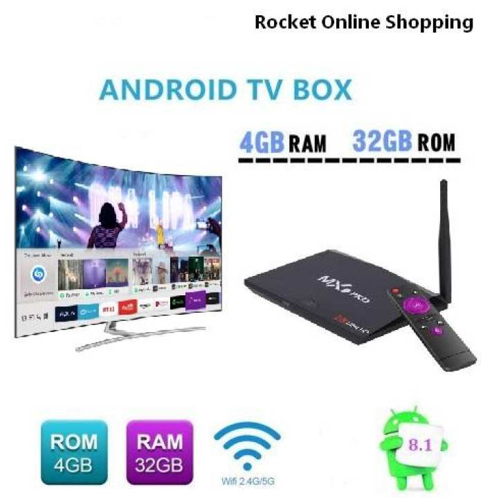 4K MX9 Pro Android TV Box