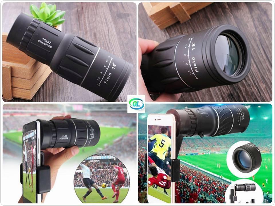 16X 52mm Zoom Lens(အဝေးကြည့်မှန်ပြောင်း)