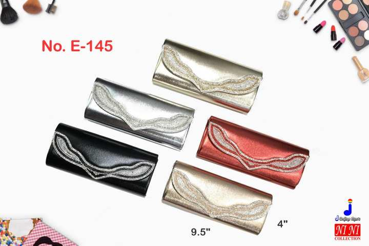 (E145) Clutch Bag Evening Bag Formal Event Bag for Ladies