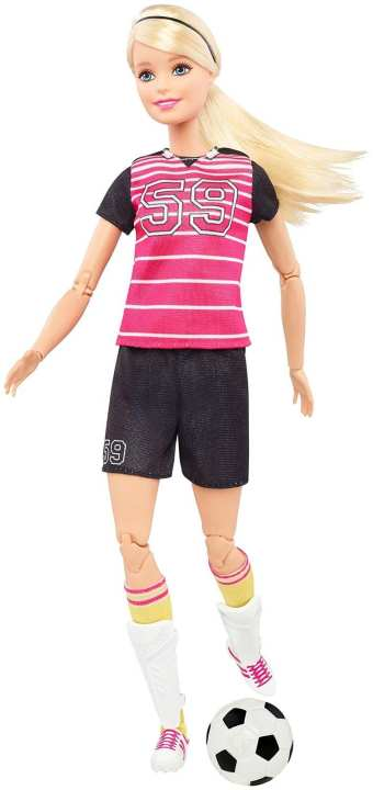 Barbie Made to Love Soccer Player (3+)