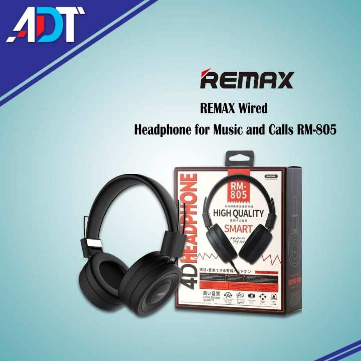 REMAX Wired Headphone for Music and Calls RM-805